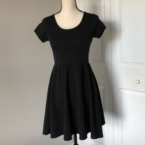FRENCH ATMOSPHERE BLANK DRESS